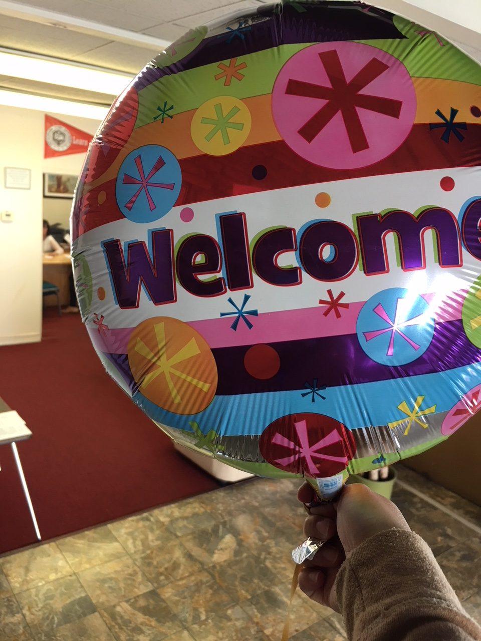 Yuin University Welcome Day 2018 Fall Balloon Auditorium
